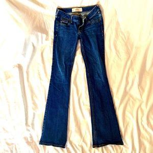 Stretch Denim Boot Cut Jeans (SHORT)